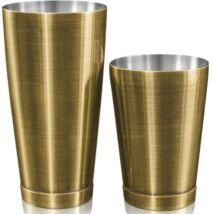 Kenko boston shaker fém keverőpohárral bronz színű