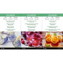 Monin Limonédé lap 12 limonádét tartalmaz (Új 2018 as)