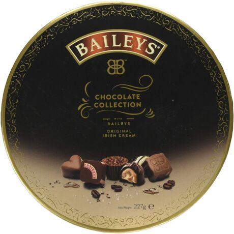 Baileys csokoládé válogatás - kerek díszdobozban - 227 gr