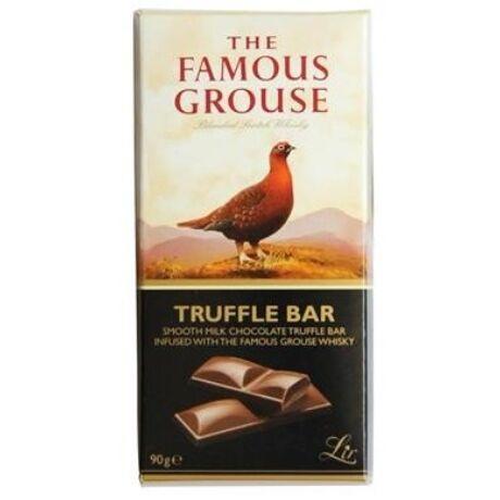Famous Grouse Bar - whiskys trüffelkrémmel töltött tejcsokoládé tábla - 90 gr