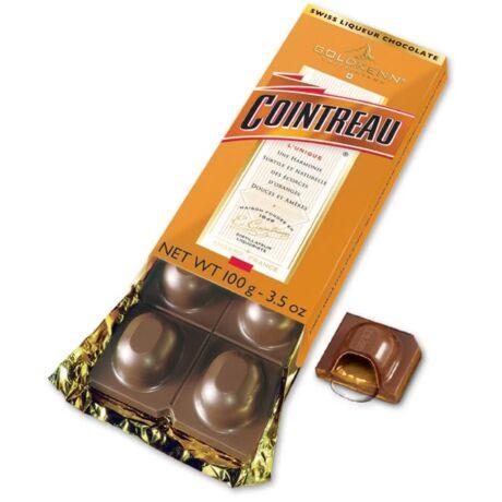 Cointreau likőrrel töltött táblás csokoládé - 100 gr