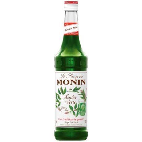 Monin Zöld Menta szirup (Green Mint) 0,7L