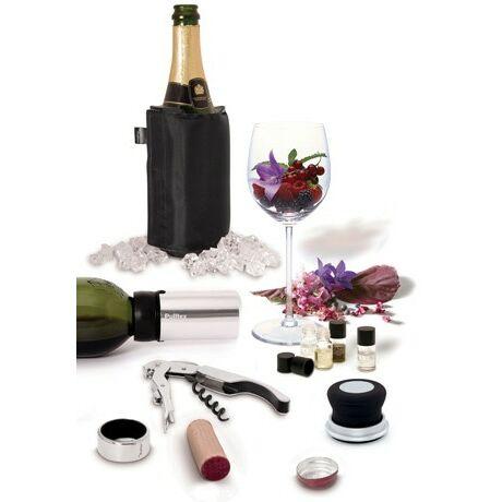 Pulltex Komplett boros és pezsgős szett aroma mintával