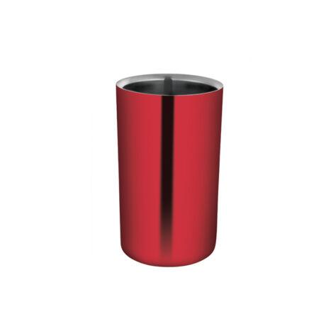Üveghűtő Classico piros