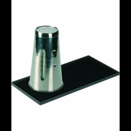 Shaker Mat 15 cm x 31 cm fekete