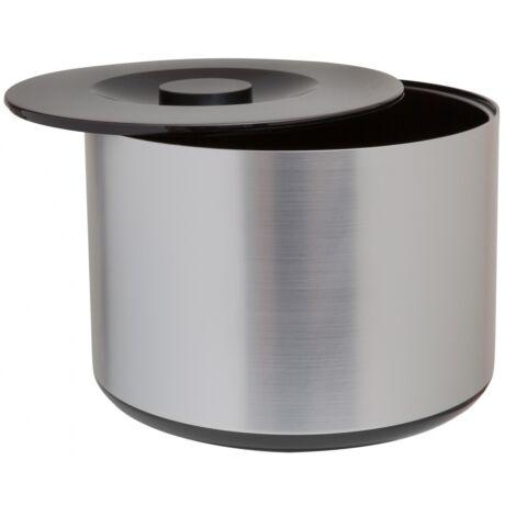 Dupla falú műanyag jégvödör alumínium bevonattal 10 literes