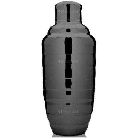 Bomber koktél shaker gunmetal fekete 500 ml