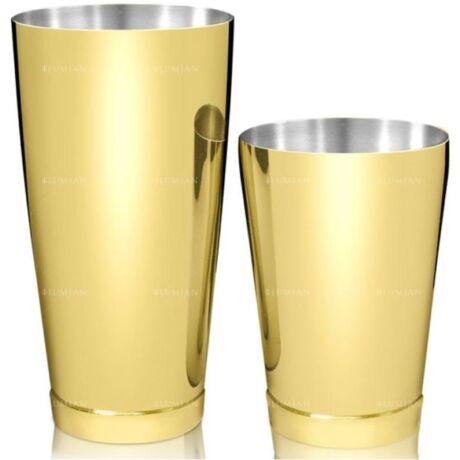 Kenko boston shaker fém keverőpohárral arany színű