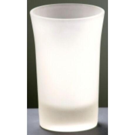 L. Likőr shotos pohár homokfúvott