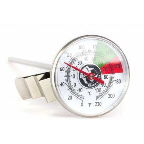 Rhinowares Thermometer, tejhőmérő hosszú 18 cm