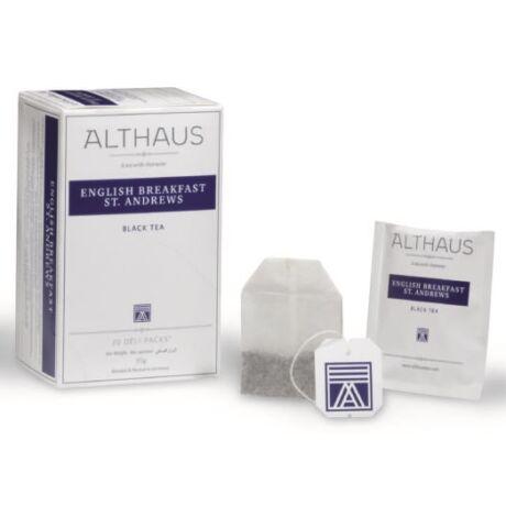 Tea Althaus English Breakfast St. Andrews deli pack 20 filter