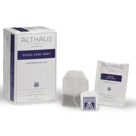 Tea Althaus Royal Earl Grey deli pack 20 filter