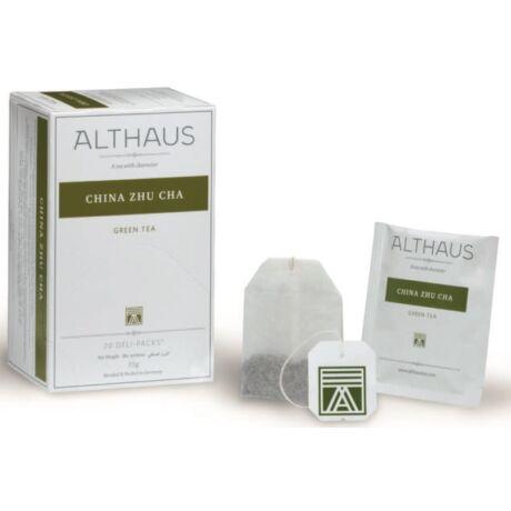 Tea Althaus Gunpowder Zhu Cha deli pack 20 filter