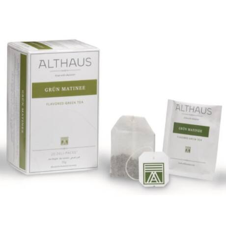 Tea Althaus Grün Matinee deli pack 20 filter