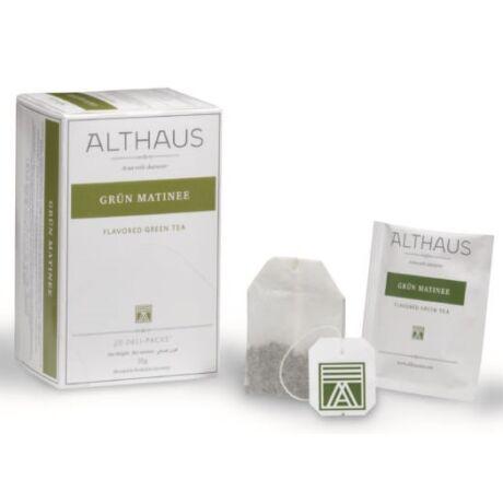 Tea Althaus Grün Matinee deli pack 20 filter