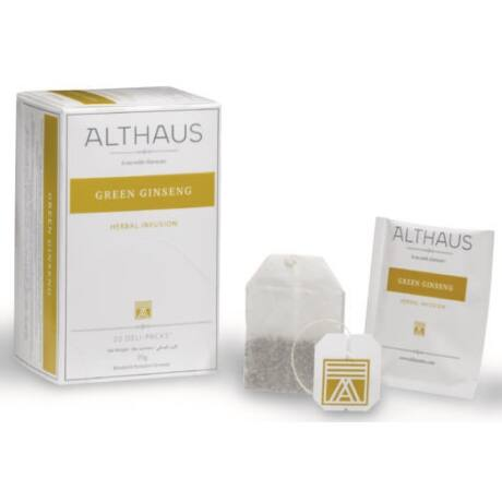 Tea Althaus Green Ginseng deli pack 20 filter