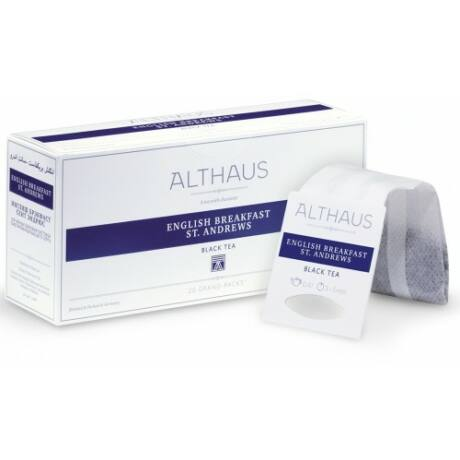 Tea Althaus English Breakfast St. Andrews grand pack 20 filter