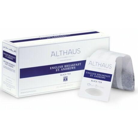Tea Althaus English Breakfast St. Andrews grand pack 20 filter