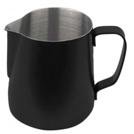 Tejkiöntő / Tejhabosító kanna teflon fekete 590ml