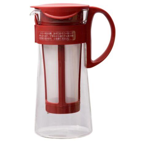 Hario Mizudashi Hideg Filterkávé Készítő Piros 1000 ml