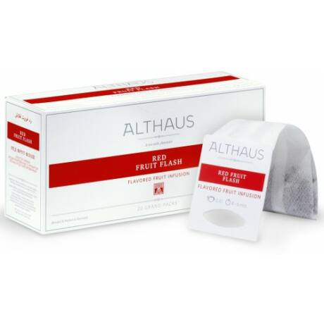 Tea Althaus Red fruit flash grand pack 20 filter