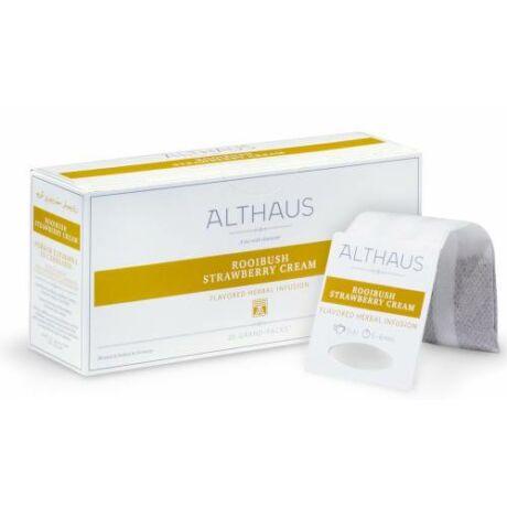 Tea Althaus Rooibush strawberry cream grand pack 20 filter