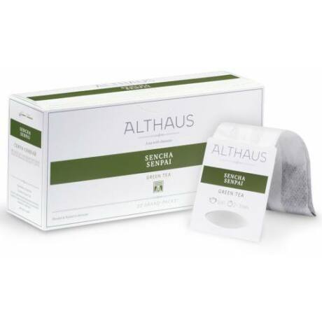 Tea Althaus Sencha Senpai grand pack 20 filter