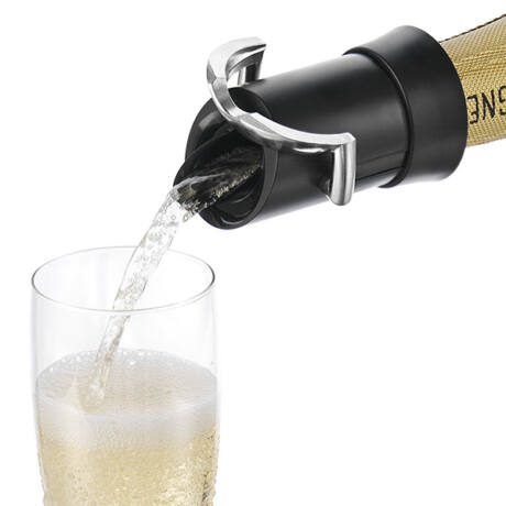 Vacu Vin pezsgősüveg záró fekete
