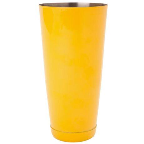 Súlyozott Boston koktél shaker sárga