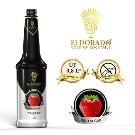 Eldorado Cukormentes Eper szirup 0,8 L