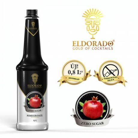Eldorado cukormentes gránátalma szirup 0,8