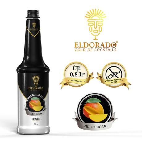 Eldorado cukormentes mangó szirup 0,8 L