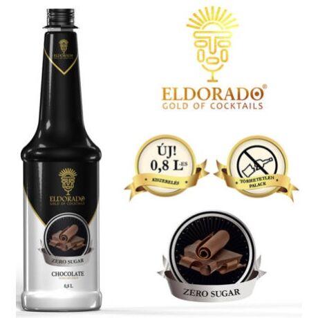 Eldorado cukormentes csokoládé szirup 0,8