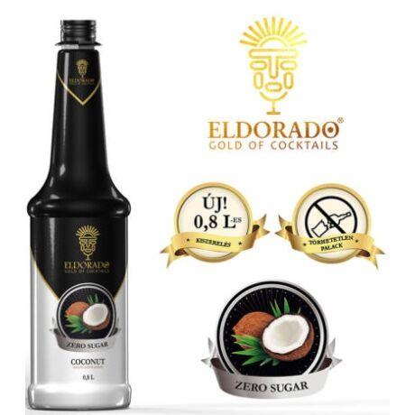 Eldorado cukormentes kókusz szirup 0,8 l