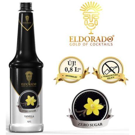 Eldorado cukormentes vanília szirup 0,8