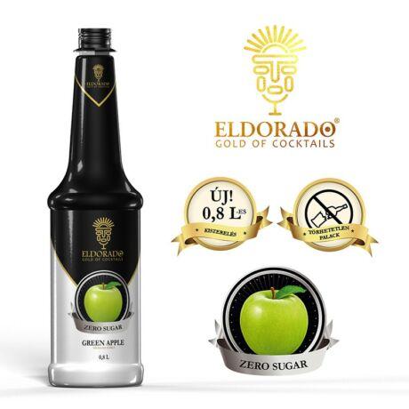 Eldorado cukormentes zöldalma szirup 0,8 L