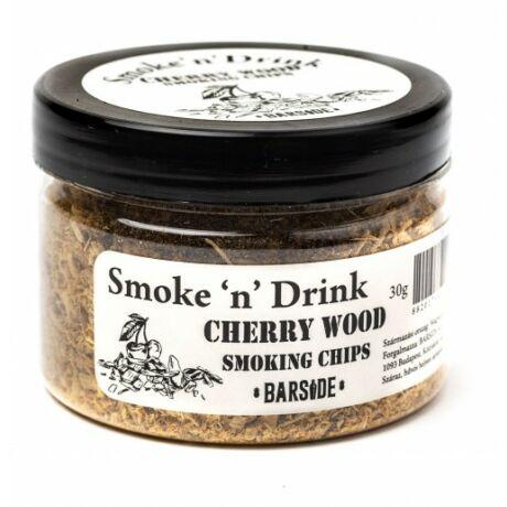 Füstölő fa füst pisztolyba Cherry Wood 30 gr