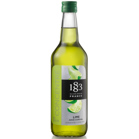 1883 Cordial lime juice 0,7L
