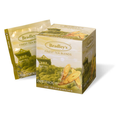 Bradley's Édesgyökér Tea (Licorice) 10db/doboz