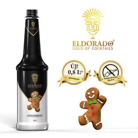 Eldorado Mézeskalács szirup 0,8 L