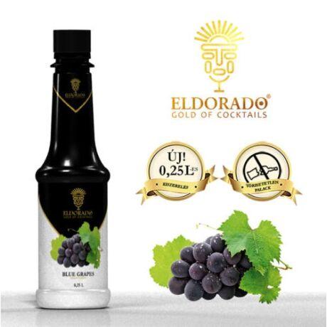 Kis Üveges Eldorado kékszőlő szirup 0,25