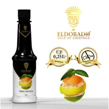 Kis Üveges Eldorado sweet and sour 0,25