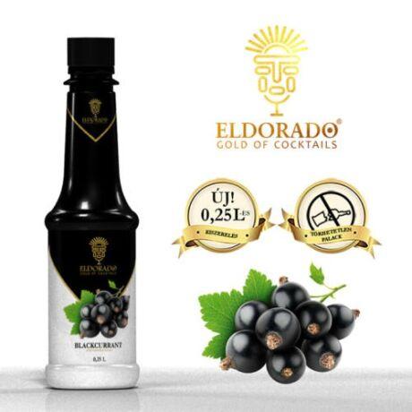 Kis Üveges Eldorado fekete ribizli szirup 0,25