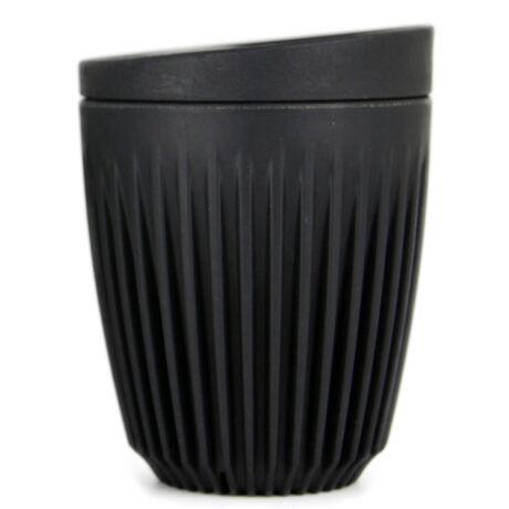 HuskeeCup pohár+tető kávés termosz CHARCOAL 230 ml