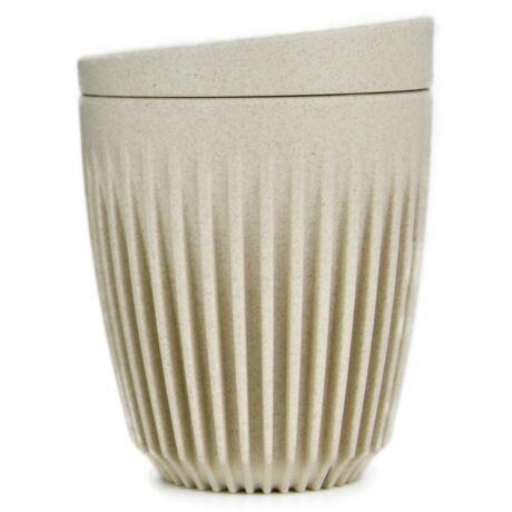 HuskeeCup pohár+tető kávés termosz NATURAL 230 ml