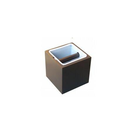 Knock box Classic Fekete