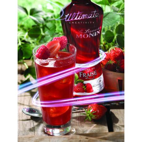 Monin Eper likőr (Strawberry) 0,7L