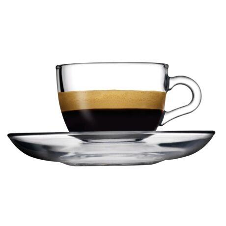 Basic teás csésze és alj 215ml