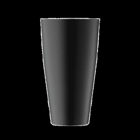 Erős kivitelű prémium boston shaker - matt, fekete