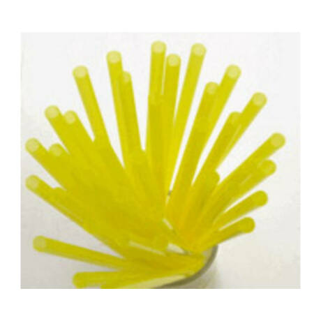 Extra vékony sárga szívószál - 5mm (500db/cs)